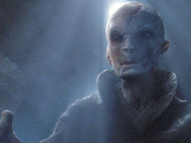 A New Star Wars: The Last Jedi Toy Sneakily Revealed Supreme Leader Snoke's Huge New Starship