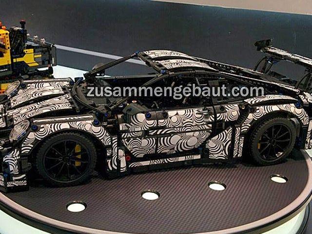 De Curves op Lego's nieuwe Technic Porsche 911 zijn gewoon perfect