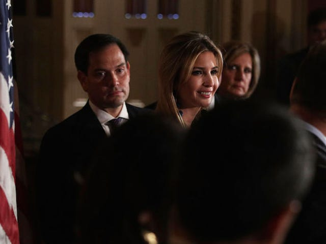 Ivanka Trump and Marco Rubio Are Reportedly Working on Republican-Friendly Paid Family Leave
