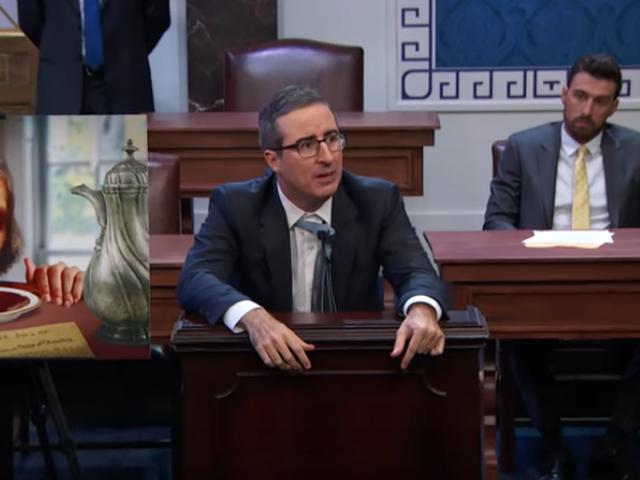 John Oliver filibusters the filibuster on Last Week Tonight
