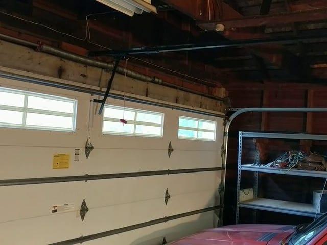 My garage door is on the fritz... Please advise. [Update]