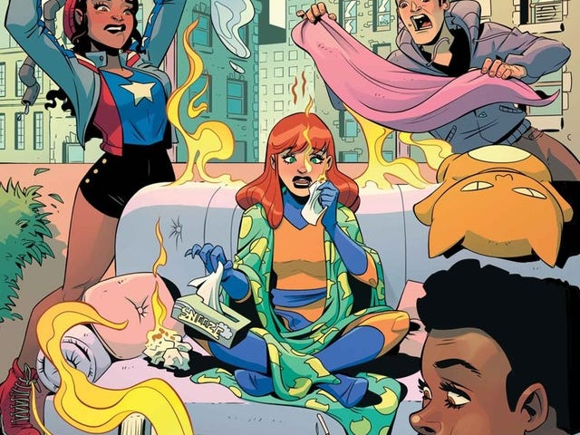 Patsy Walker, A.K.A. Hellcat! is a Goddamn Delight (Plus a Spelling Lesson)