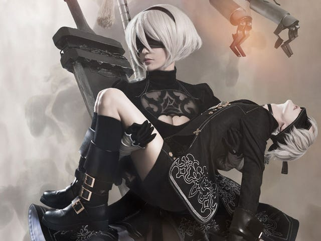 Nier: Automata Cosplay Is Not Fucking Around Here