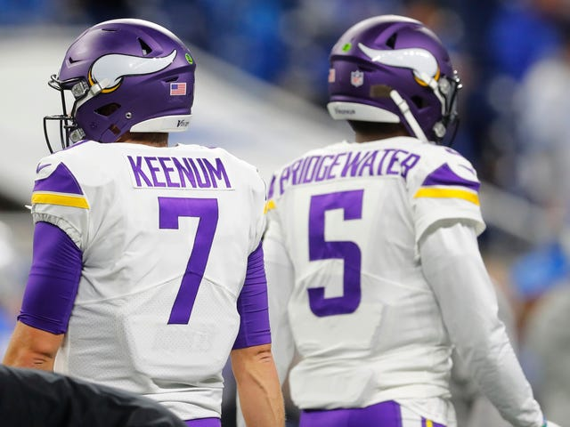The Vikings Are Clearing The Deck Of Quarterbacks To Go After Kirk Cousins