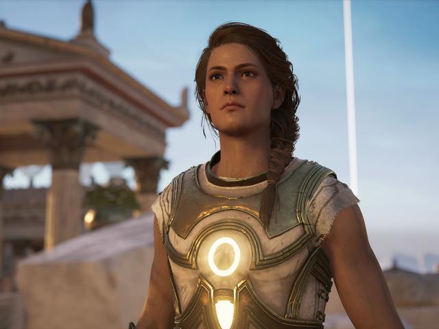 <i>Assassin's Creed Odyssey</i> nouvelle extension de <i>Assassin's Creed Odyssey</i> est un pur non-sens de science-fiction et je l'adore