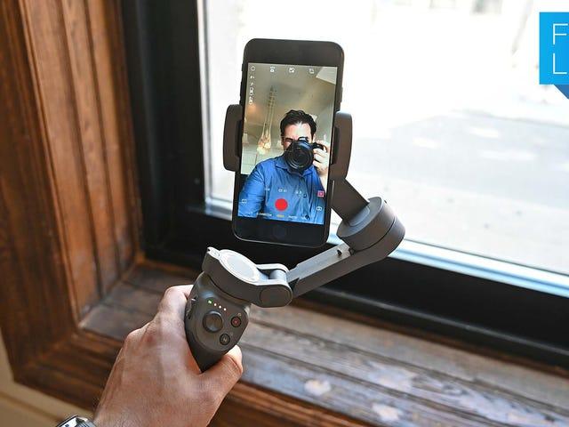 El DJI Osmo Mobile 3 podría ser el cardán perfecto para teléfonos inteligentes