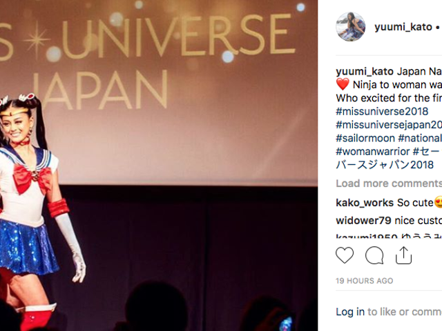 Miss Universe Japan Will Compete As Sailor Moon