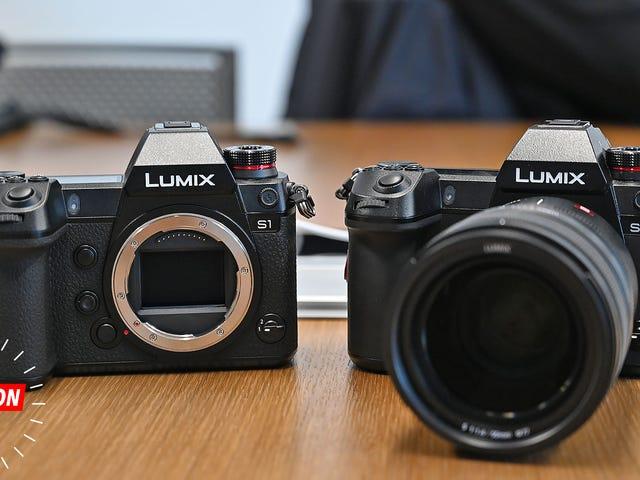 Les premières caméras sans miroir plein cadre de Panasonic sont de grosses bêtes coûteuses