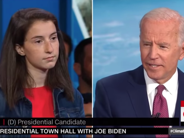 Et voici qu'un activiste du climat de 19 ans traite Joe Biden avec un scepticisme abject [Mise à jour]