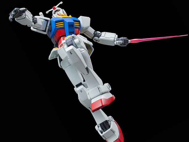 Celebrate 35 Years Of Gundam Model Kits With This Exquisite Mobile Suit