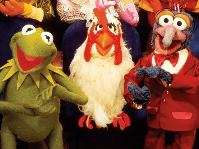 Opi <i>The Muppet Show</i> upotettu historia