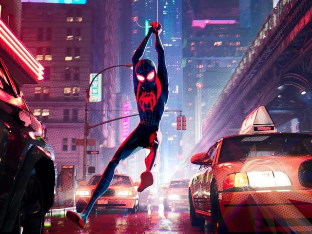 Spider-Man Swings Into the Golden Globes With Best Animated Movie for Into the Spider-Verse