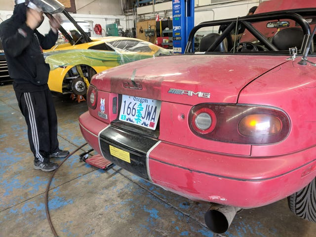 $200 Miata, now with more parts