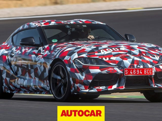 New Supra (still prototype) first drive reviews are coming in...