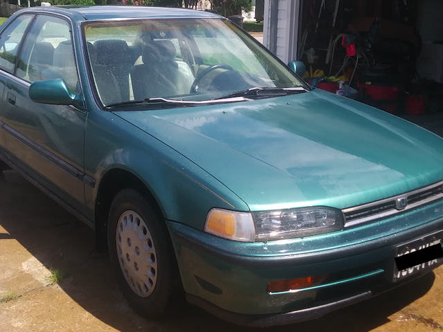 Hero ahorra 20,000 millas en el Honda Accord Coupé 1992 del triturador, anota 'Barn Find' por $ 800
