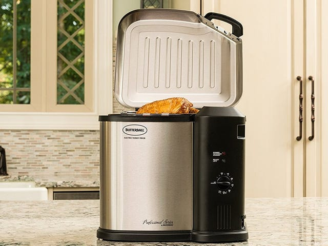 Fry Your Holiday Turkey Indoors For $77