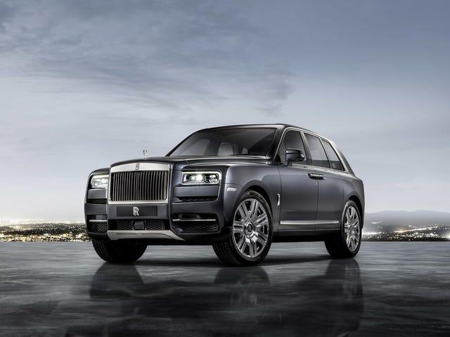 Rolls Royce Cullinan North American Launch