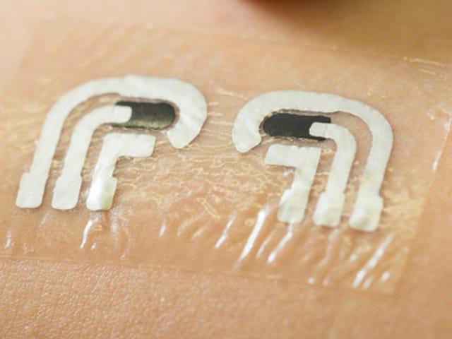 Ένα Rub-On τατουάζ για τους διαβητικούς θα μπορούσε να σημαίνει το τέλος του τσιμπήματος δακτύλων