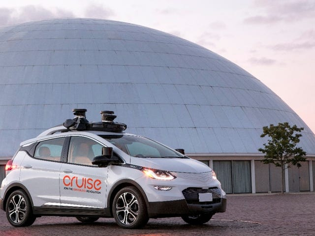 GM's Gearing Up To Dominate The Self-Driving Car Industry