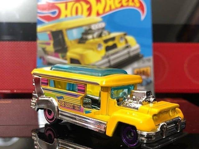 Eto na yung bagong Sıcak Tekerlekler jeepney.