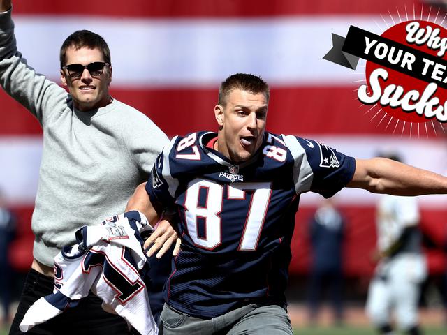 Pourquoi votre équipe suce 2017: Patriots de la Nouvelle-Angleterre <em></em>