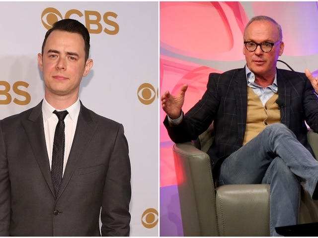 Colin Hanks really wants Michael Keaton to be his dad