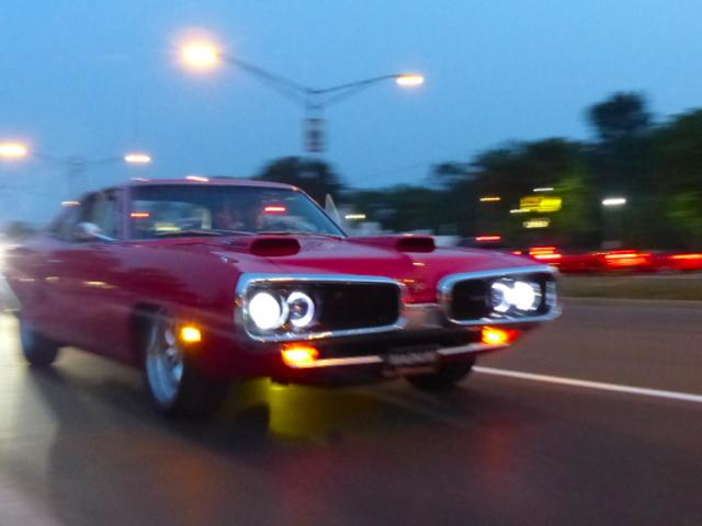 Detroit-Area Jalops: Datang Cruise Woodward Dengan Kami Malam Ini