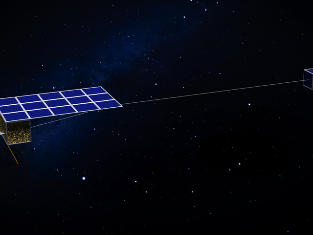 Swarms of Satellites That Surf the Solar Wind Could Be the Future of Asteroid Mining