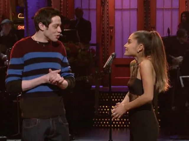 Pete Davidson and Ariana Grande Were Flirting About Having Babies