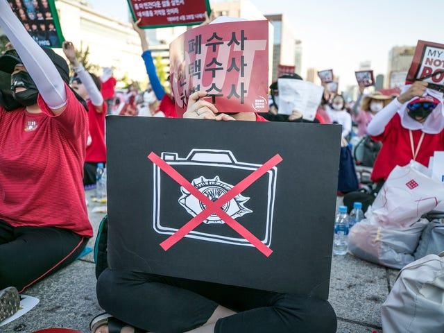 South Korea's Rampant Spy-Cam Porn Problem Prompts Crackdown at Transportation Hubs