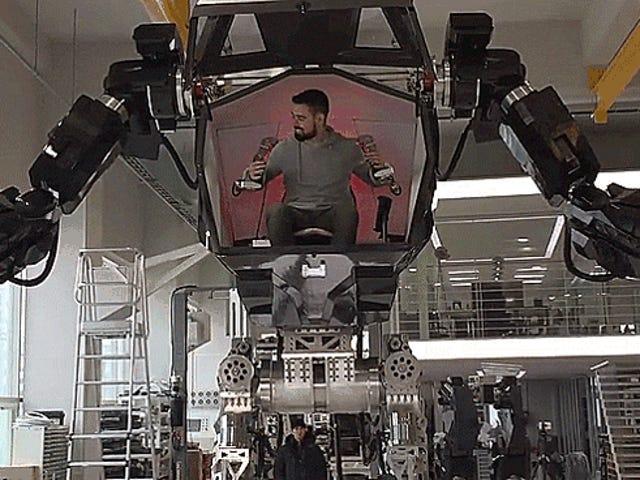 Οι Νότιοι Κορεάτες κατασκευάζουν το πρώτο παγκοσμίως γιγαντιαίο ρομπότ που διοχετεύεται από τον άνθρωπο