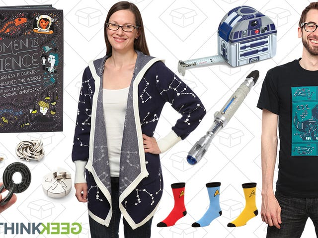 Save on Tons of the Geekiest Gifts With ThinkGeek's Holiday Deals