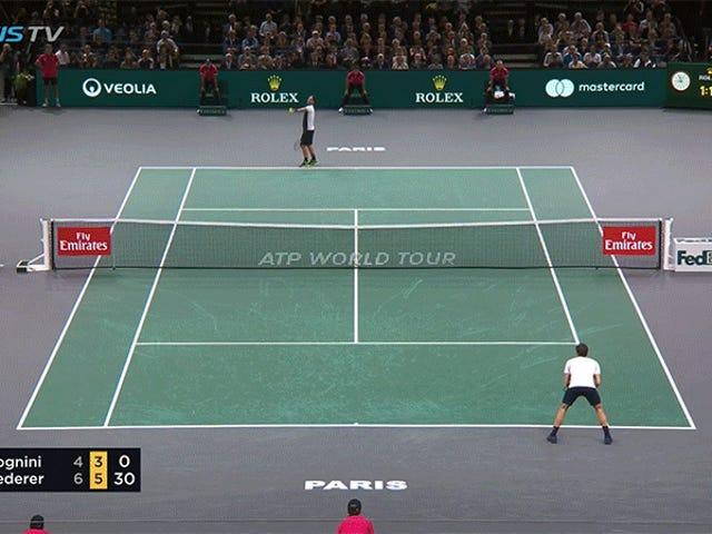 Roger Federer Letakkan Khidmat Ini Secara Langsung Ke Tempat Sampah