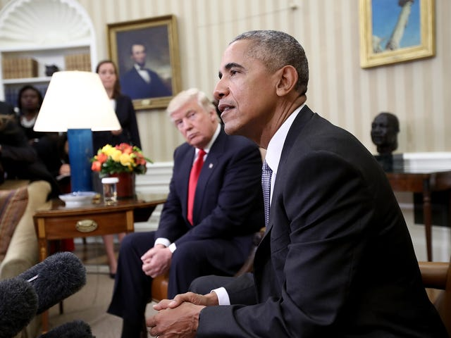 Trump Continues to Steal Black Man's Work; Takes Credit for Veterans' Healthcare Changes Started Under Obama