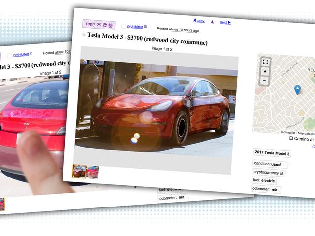 未来からのCraigslist Ads:Tesla Model 3