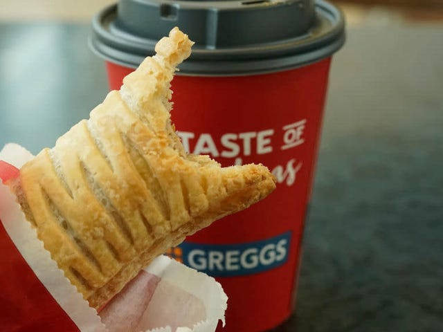 Vegan sausage rolls sold insanely well at Greggs, and employees are being rewarded