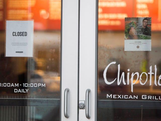 Chipotle'sOutbreaks er nu centrum for en strafferetlig undersøgelse