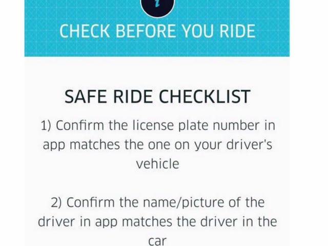 Uber hjelper deg med å gi passasjerer tips om hvordan du ikke får rapp