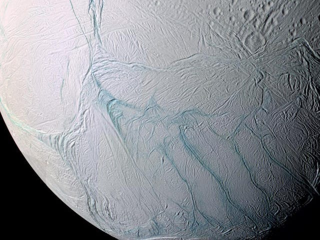 A Wild New Hypothesis for How Saturn's Moon Enceladus Got Its Geysers
