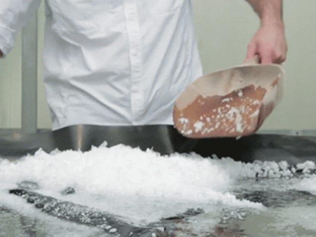 Bagaimana garam yang baik dibuat dengan cara yang lama dan mudah