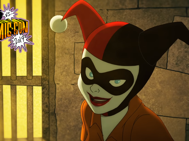 The New Trailer DC Universe's Harley Quinn Show Takes a Hammer to the Fourth Wall