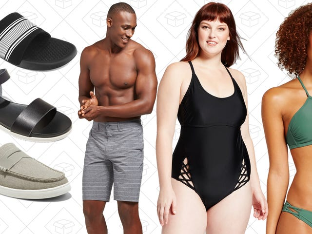 Get Ready for Summer with BOGO 50% Off Swimwear and Shoes at Target