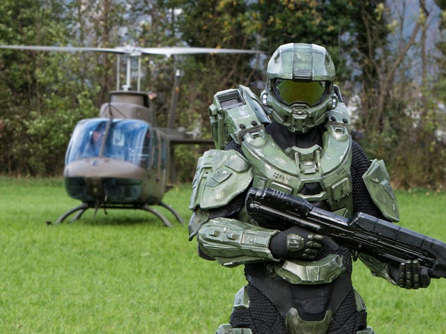 Showtime's Halo show has finally started filming