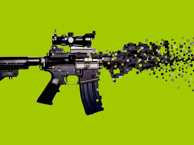 Real Guns, Virtual Guns, And Me