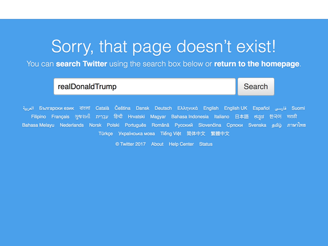 Donald Trump's Twitter Account Was Deactivated 'Inadvertently' by a Twitter Employee for 11 Minutes