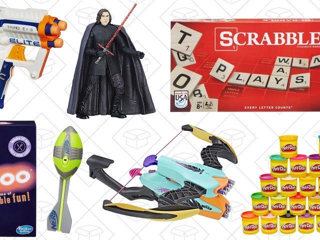 มีบางสิ่งบางอย่างสำหรับทุกคนใน Toy นาทีสุดท้ายของ Amazon และการขายเกม