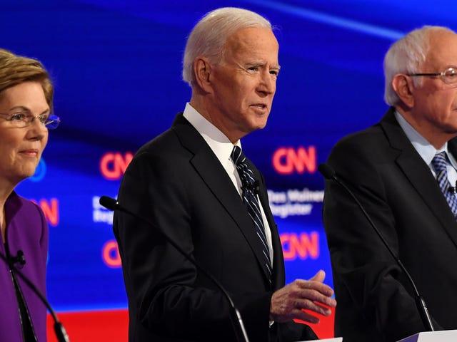 Los momentos más importantes del debate democrático de anoche