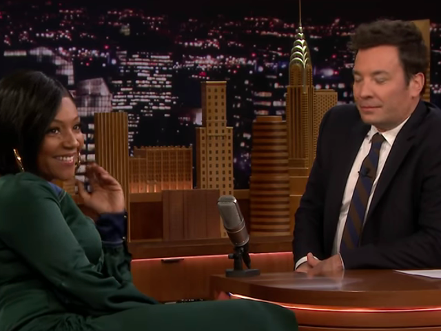 Tiffany Haddish deploys her Lady Of Rage to trounce Jimmy Fallon on <i>The Tonight Show</i>