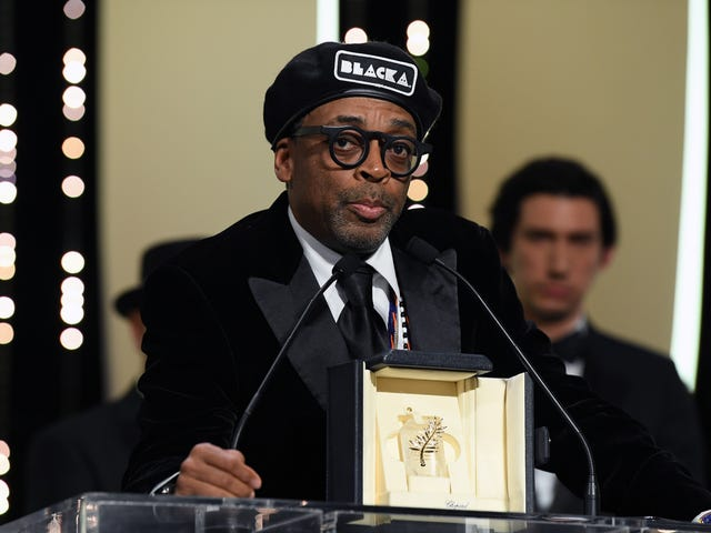 Black KkKlansMan Wins Top Prize at Cannes, Spike Lee's 1st-Ever Nod From the French Film Fest