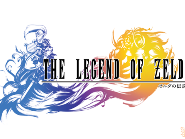 Logotipos de Final Fantasy  mengenang kembali dengan The Legend of Zelda
